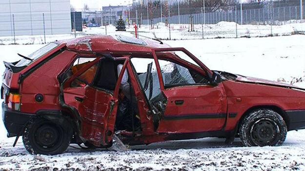 Święta na drogach: 100 kolizji i 13 wypadków