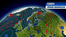 Niże pompują do Europy arktyczny chłód