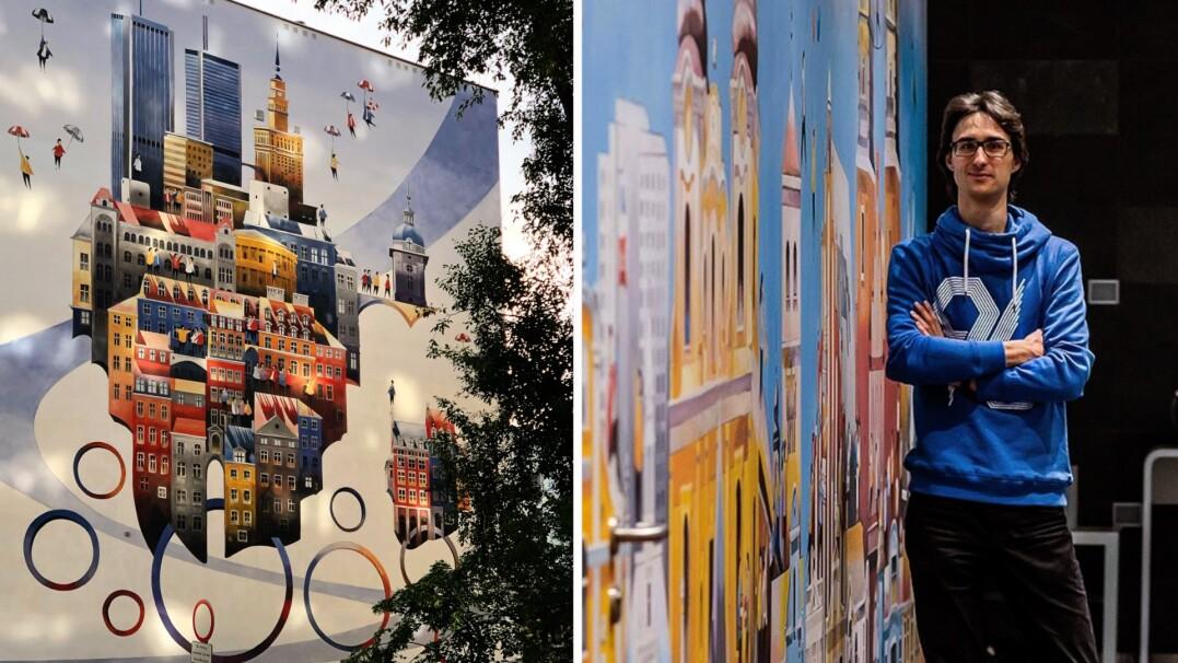 """Artysta, który koloruje Warszawę. """"Murale są bardzo istotne"""""""