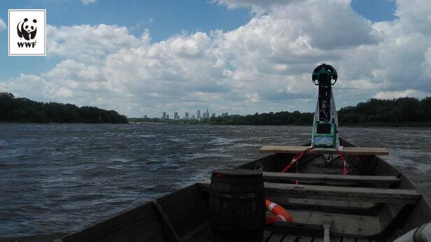 Pierwsze zdjęcia Street View na rzece WWF