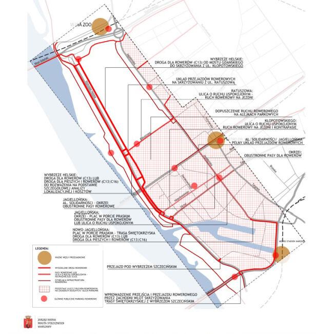 Ruch rowerowy TransEko / Zarząd Mienia