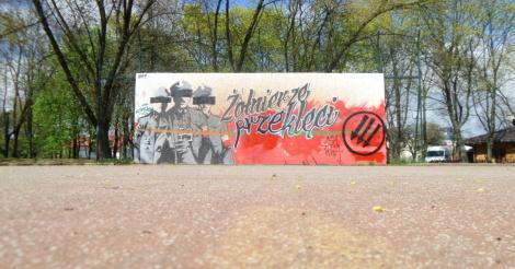Zniszczyli mural wykl ci przemalowani na przekl tych for Mural ursynow