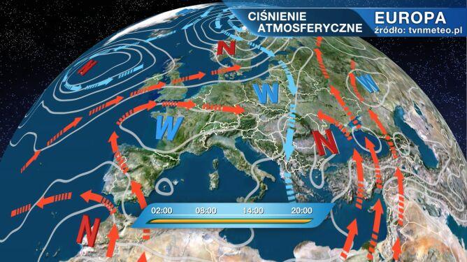 Nad Polską zalega chłodne powietrze