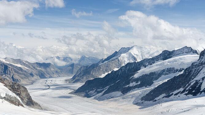 Do 2100 roku mogą stopnieć prawie wszystkie alpejskie lodowce