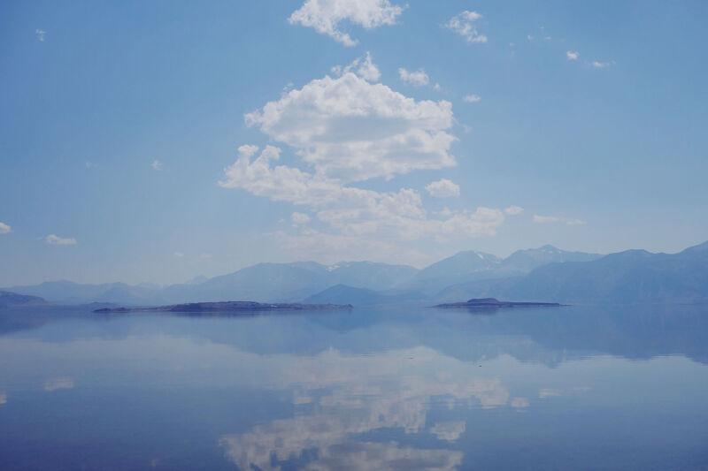 Jezioro Mono (Caltech)