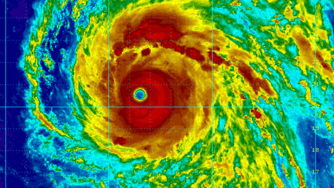 W kierunku Tajwanu i Japonii zmierza tajfun Maria. Przyniesie niszczycielski wiatr